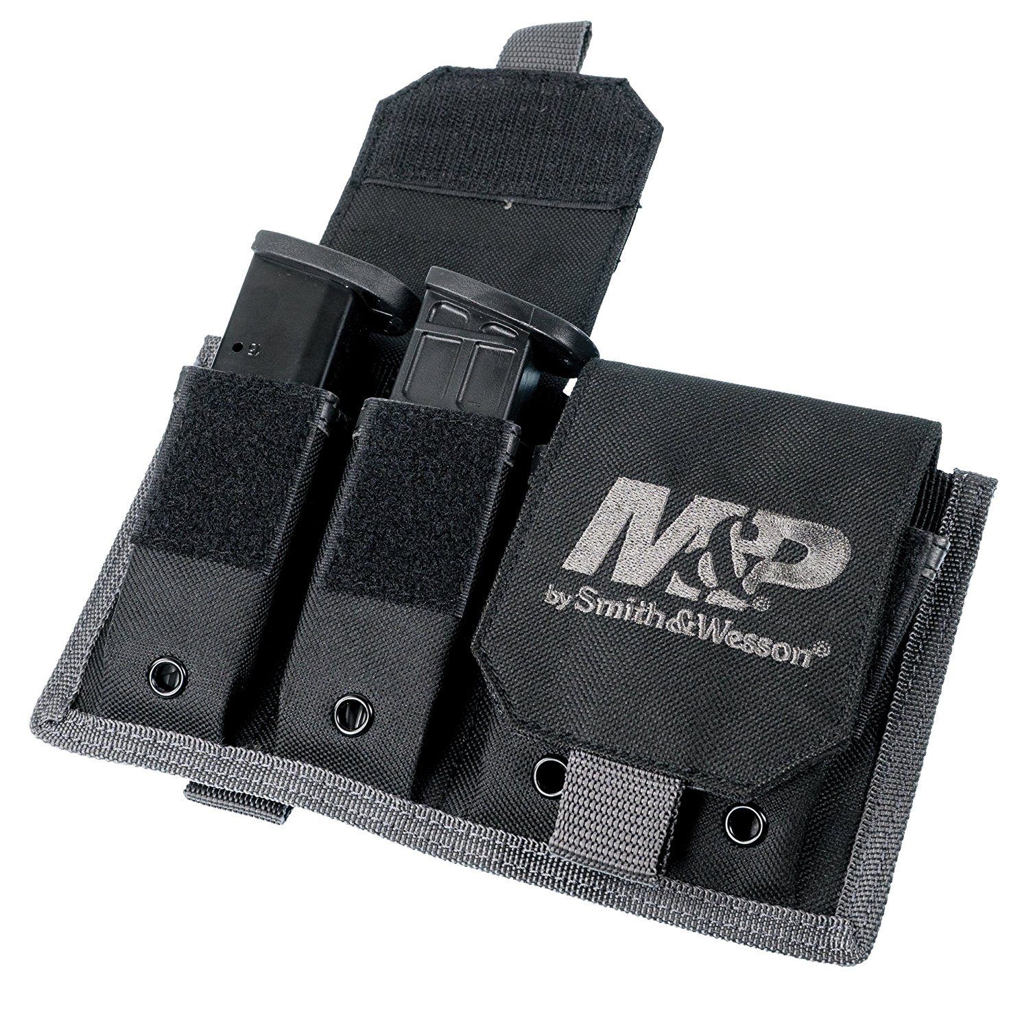 Smith & Wesson Accessories M&P By Smith&Wesson 110271 Pro Tac 8 Pistol Magazine Pouch, 8 Pouch