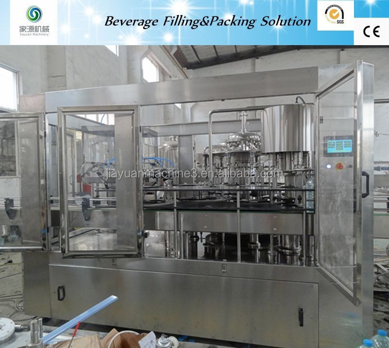 Automatic PET Bottle Fruit Juice Beverage Filling Machine Production <strong>Line</strong>