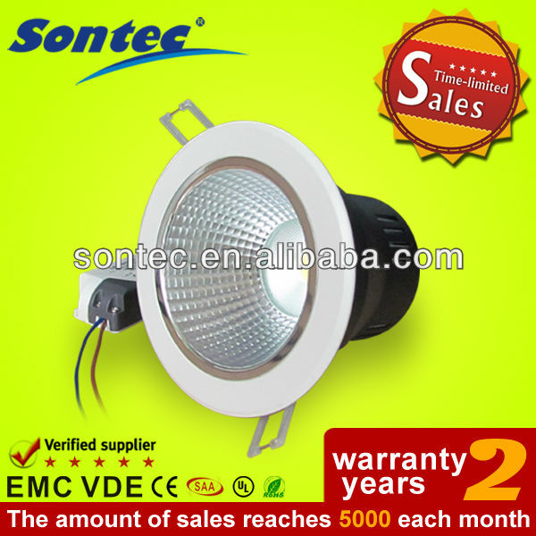 CE 2.5 inches IP33 5W COB led ceiling downlight
