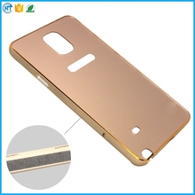 Luxury Back Cover Aluminum Metal Bumper back cover case for Samsung Galaxy Note 4 case