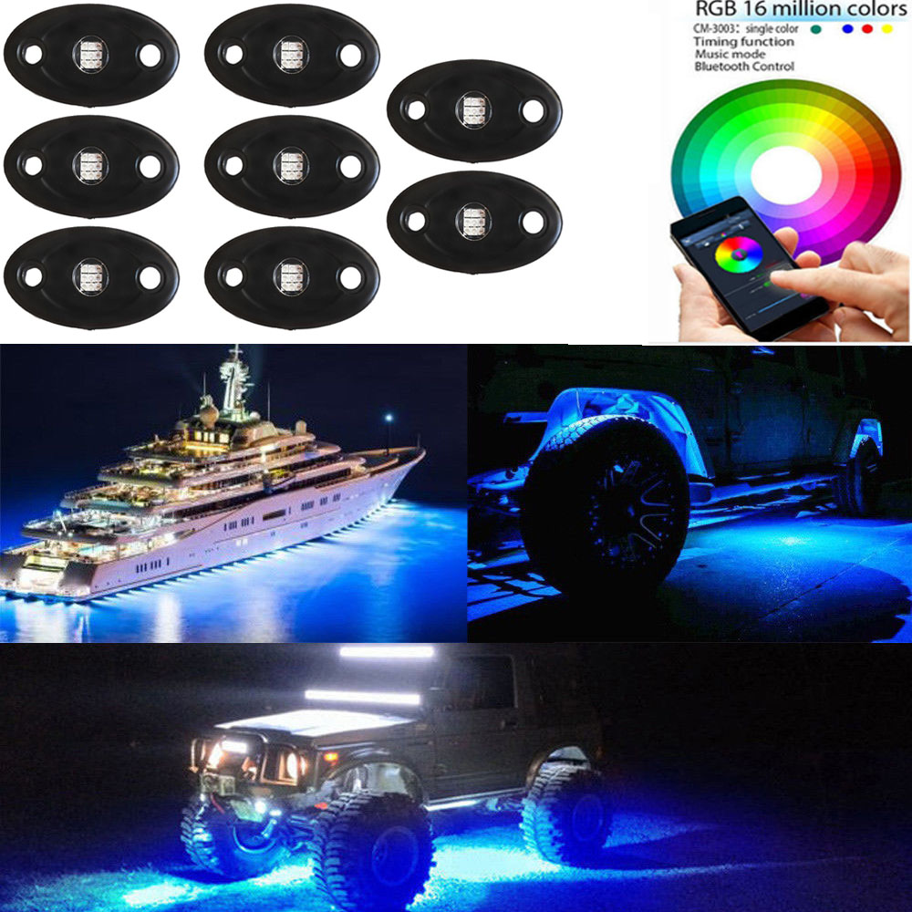 New flags led light shenzhen led atv rgb colorful whip waterproof bright led lights