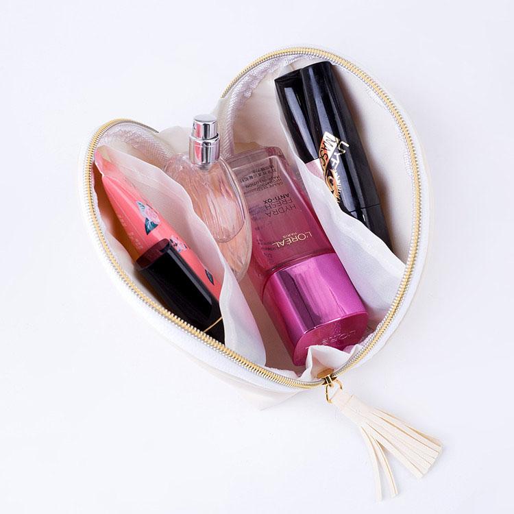FuYuan Wholesale custom Portable PU Cosmetic Bag For Outside Clutch