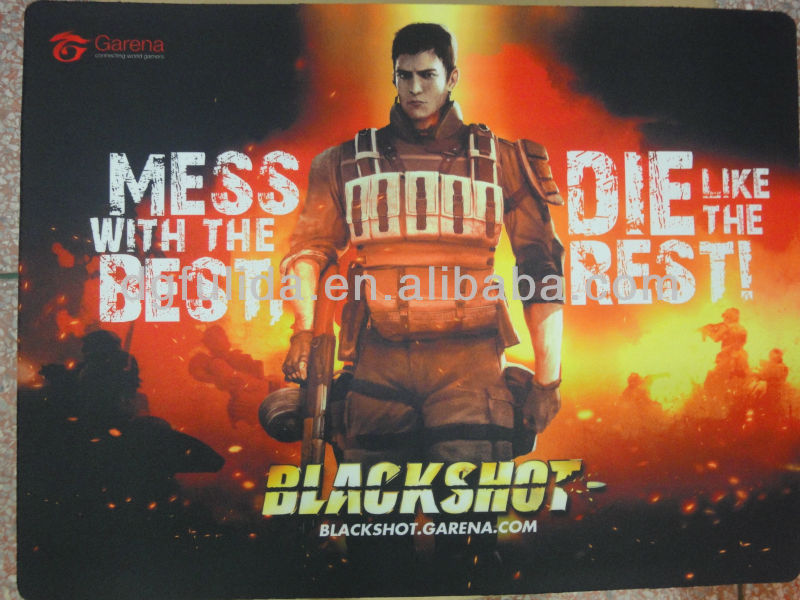 Garena Black Shot Game Mouse Pad_promote Your Company - Buy Garena Black  Shot Heating Pad,Game Mouse Pad Custom,Mouse Pad Product on Alibaba com