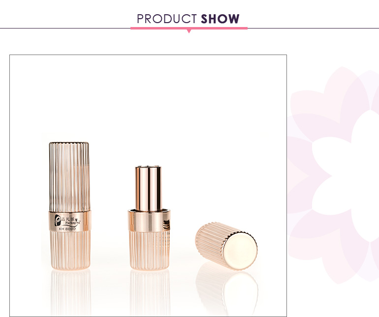 Luxury Cosmetic Packaging Tube Eos Lip Balm Container With