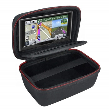 "GC Hard Carrying Case Compatible 4.3-5"" Garmin Nuvi Tomtom Mio GPS Navigation Shockproof Travel Bag"