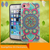 Wholesale 3D print combo case,customized design combo case for iphone 5 6 7 plus
