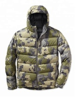High Quality Custom Down Insulated Hunting Jacket Mens Hunting Jacket Camo
