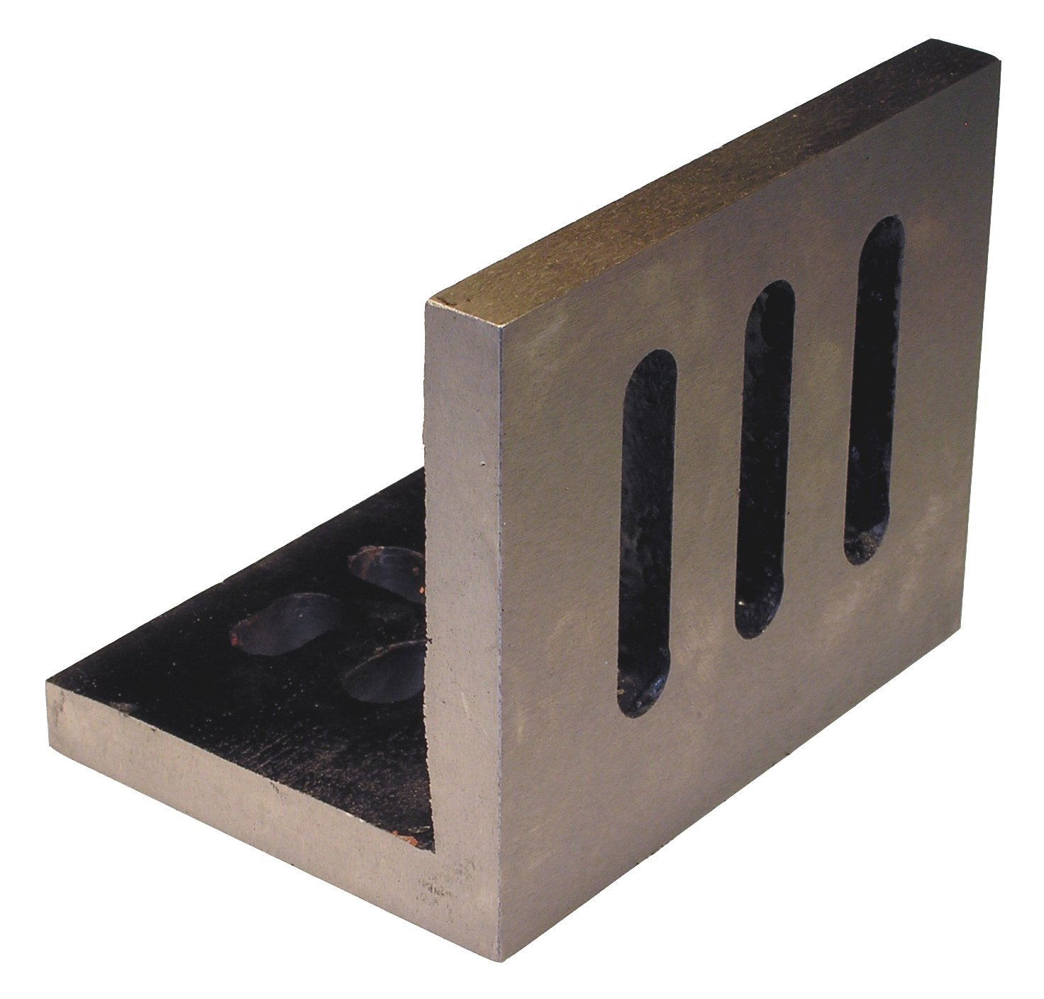 Value Line 10 x 8 x 6 Slotted Angle Plate - Open - Machined