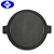 cast iron griddle, ribbed pan , camping cookware grill pan