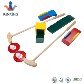 Classic Game Puzzle Wooden Croquet Toy Kids Yard Game Child Wood Golf Outdoor Games Buy Wooden Croquetcroquet Toy Kids Yard Gamewood Golf Outdoor