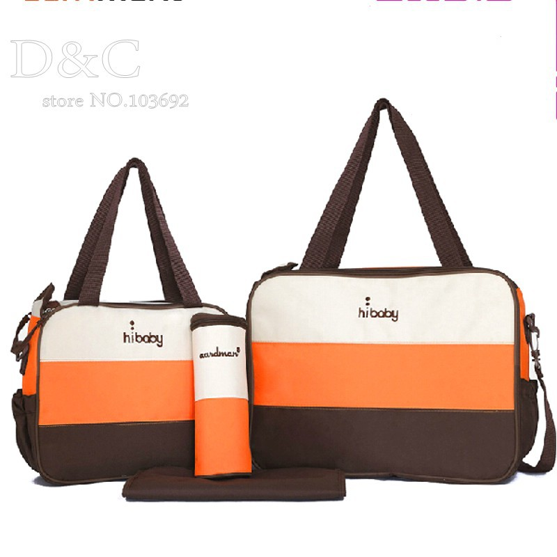 designer maternity bags a06y  4PCS/Set fashion baby diaper bags for mum personalized designer diaper  bags large capacity nappy