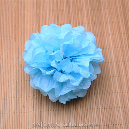 Indoor Decorative Paper Crafts Pom Poms
