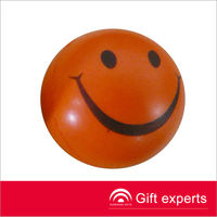 Promotional Top Quality Cheap PU Stress Smiley Face Ball