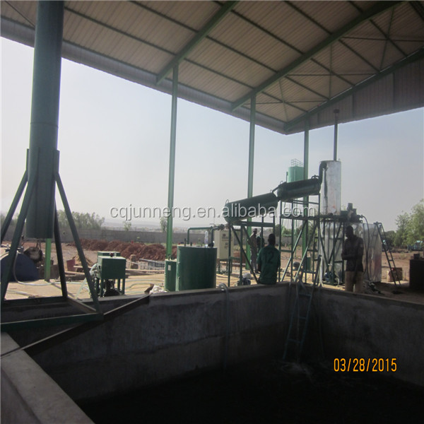 China best technology that remove the diesel color equipment