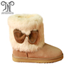 fashion furry girls kids snow boots