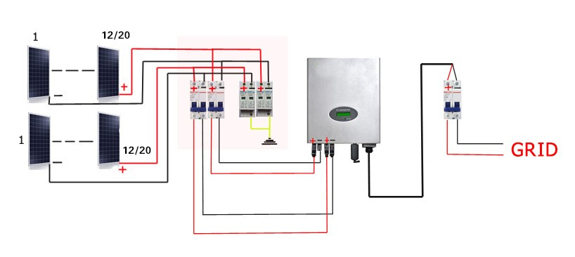 Class A Photovoltaic Panel System 10kw Home Solar Power