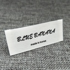 neck for clothing wash labels,custom design brand name logo woven labels for men clothes garment labels,fabric labels