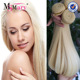 wholesale hair extensions double drawn brazilian 613 blonde sew in human hair weave