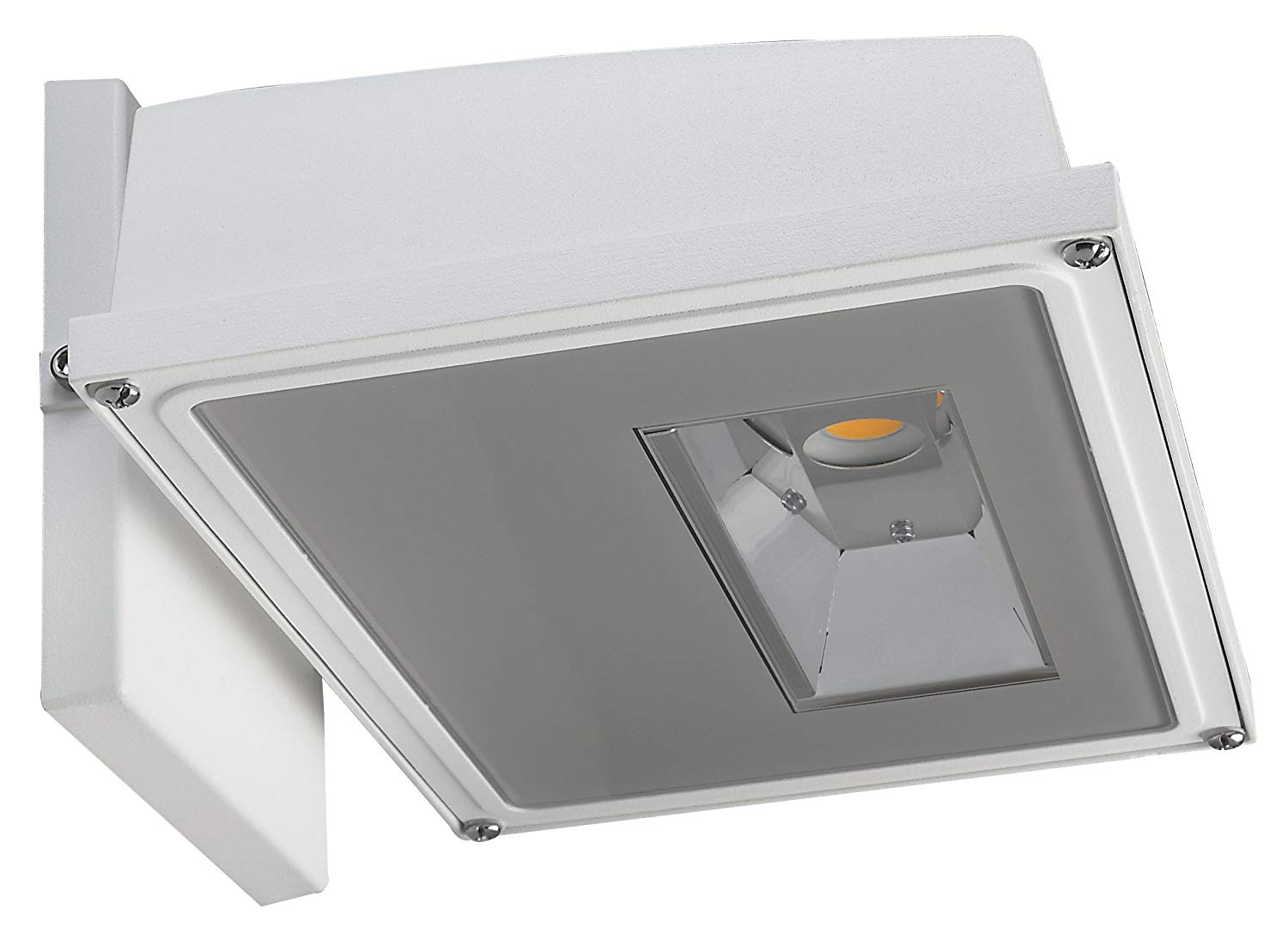 Nuvo Lighting 65/153 11W LED Wall Pack White Finish 3000K; 120-277V 1,255 Lm, Small