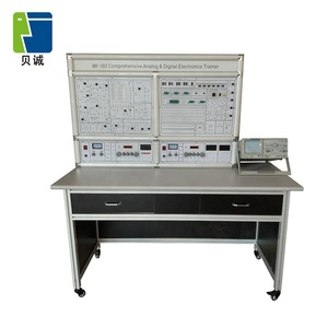 Educational Lab Equipment Comprehensive Analog & Digital Electronics Trainer