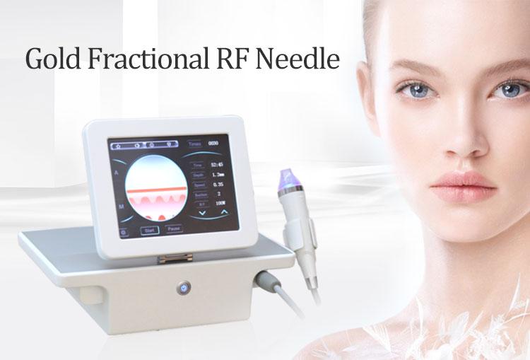 Gold micro needle machine / radio frequency microneedle rf fractional/rf fractional micro needle