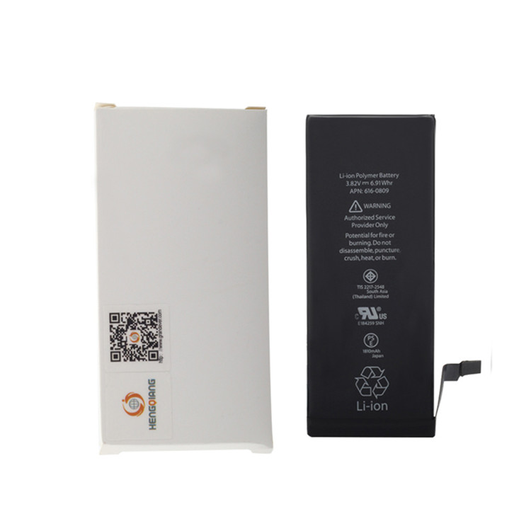 factory wholesale for iphone 6 battery with Capacity 3.82V 1810mah
