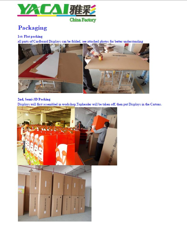 Professional cardboard display manufacturer,Paper display rack, CDU display box