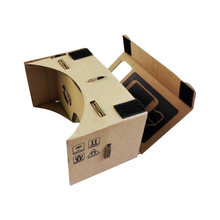 Cardboard 3D VR Glasses Virtual Reality Goggles Oculus Rift DK2 for iPhone 6 Plus 4.7 ~ 5.5 inch Android & iOS Smartphone