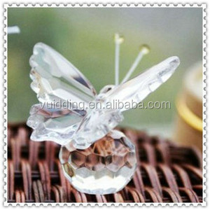 Wedding Crystal Cheap Crystal Butterfly For Cheap Gifts