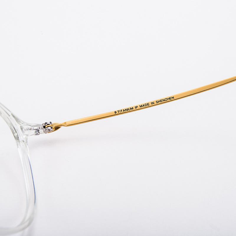 Lunettes de luxe en titane, Air pur, pour femme, verres optiques, accessoire de styliste, à la mode