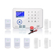 SMS Calling 88 Wireless Zones WIFI GSM Wireless Alarm Control Panel Home Burglar alarm system security WIFI GSM Alarm System