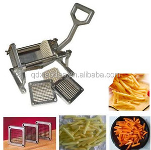 manual potato chips cutter / cut potato chips by hands