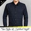 Rich experience clothing manufacturer direct supply latest plaid 100% cotton shirt designs for men with long sleeve