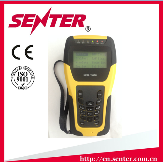 ST332B SENTER vectoring support telecom copper cable vdsl2 tester