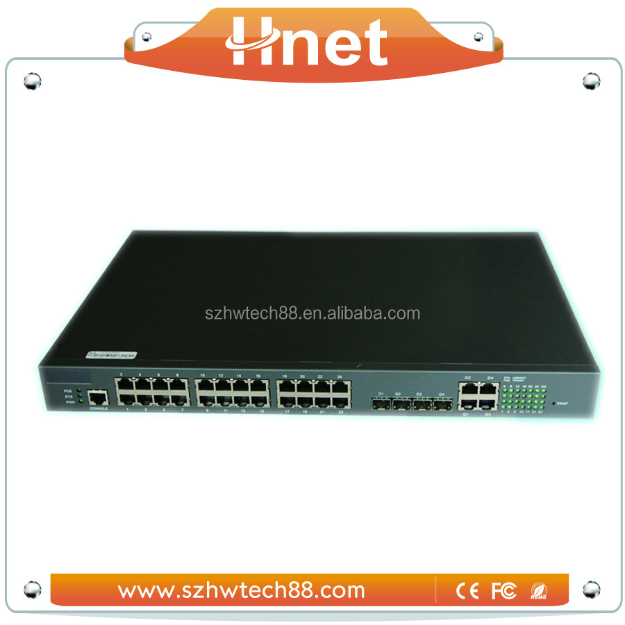 Wholesale Alibaba 24 Ports PoE Ethernet Network Switch 24v For CPE Wifi Access Point