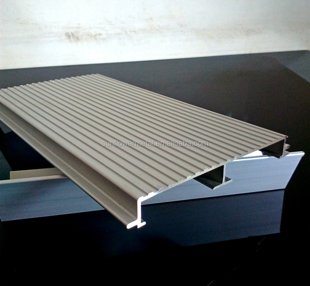 Extruded aluminum floor plank floor matttroy for Aluminum flooring