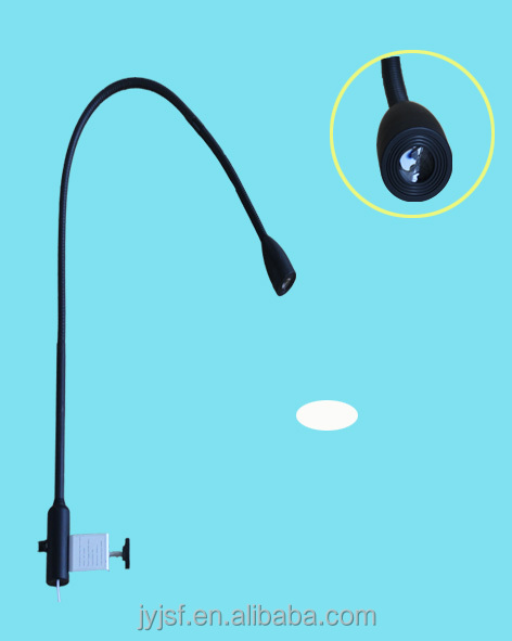 LED clip-on bed examination lamp