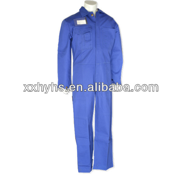 100% Cotton Flame Resistance work clothing from factory in Xinxiang