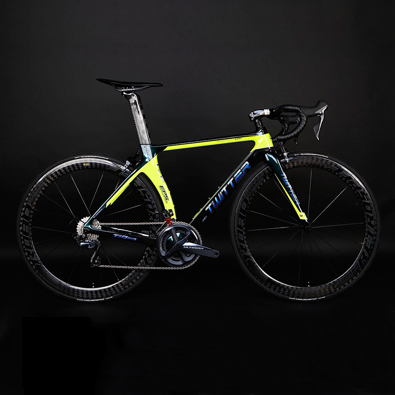 Alibaba.com / OEM Full 105 R7000 22S Discolor twitter super light complete racing 700C carbon road bicycle