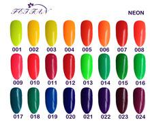 free shipping 6pcs VEN Modern Neon colorful cheap gel polish 15ml 24 charming colors for choice