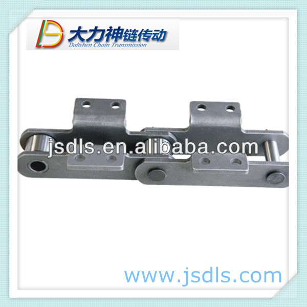 long pitch slat roller conveyor chain