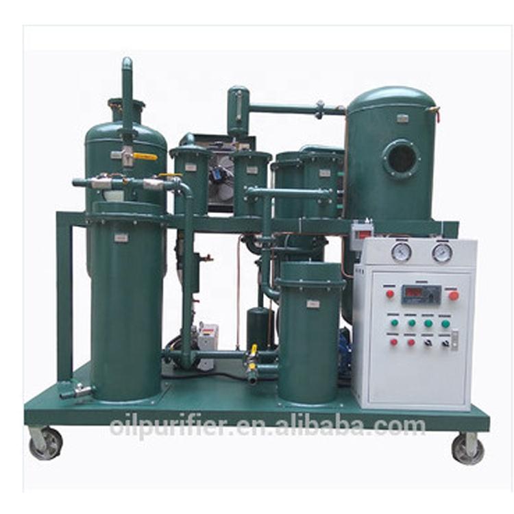 Vakuum Abfall Lurication Öl Filtration Regeneration & Entfärbung System In Zhongneng Fabrik