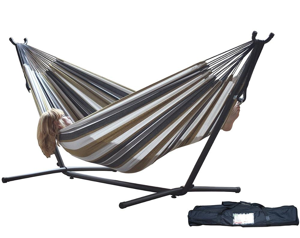 swing garden furniture cushioned hanging metal lounger patio seat with backyard food canopy living person sale beige console outsunny tray covered storage outdoor frame hammock chair