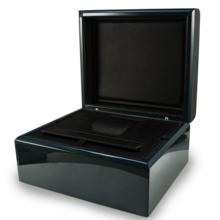 2019 유리 Luxury watch box Black 나무 Watch box <span class=keywords><strong>포장</strong></span>