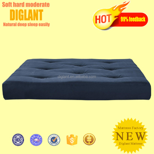 Futon Mattress In Colors Tan, Merlot, Cobalt, Black,Charcoal, Chocolate