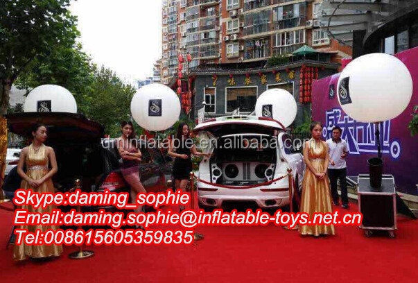 China Inflatable Tripod Balloon for Outdoor Illumination,Stand Balloon for Deocration