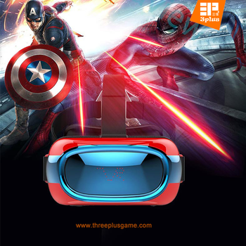Wholesale OEM VR 3D Virtual Reality Glasses for Movies