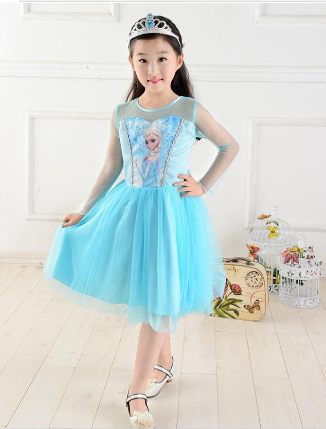 Rapunzel font b Dress b font font b Fancy b font Elsa Layered font b Dress