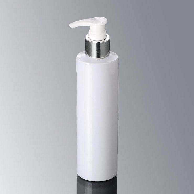White color plastic spray pump bottle cosmetic perfume bottle in china