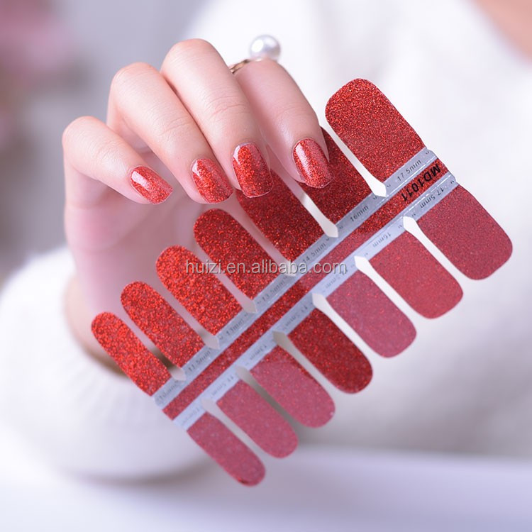 Custom nail wrap printing nail sticker